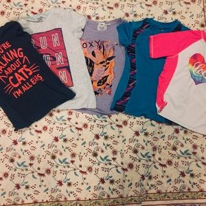 Other - Bundle of 5 Girls T-shirts size M